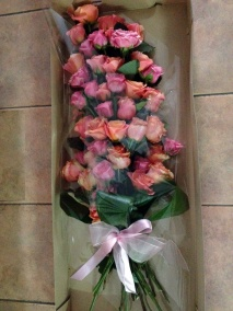 Buchet trandafiri a